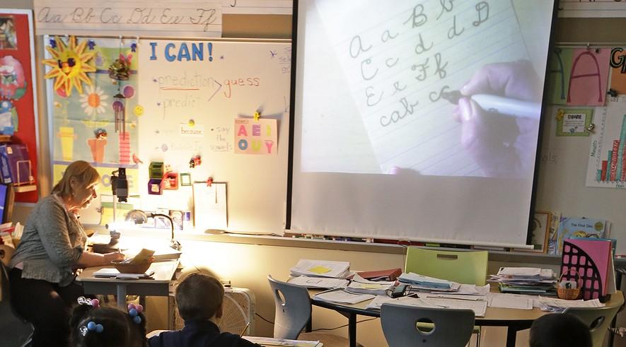 creative writing teacher high school