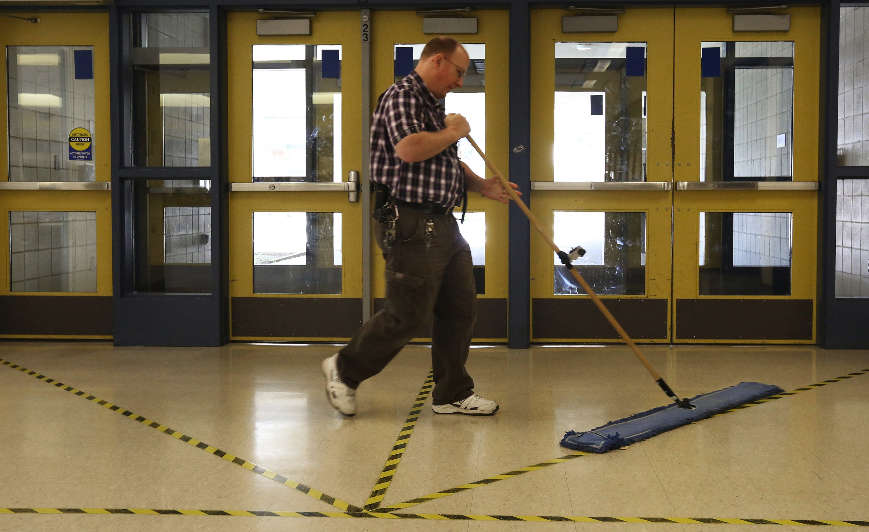 Newsela | Top contender for Janitor of the Year award ...