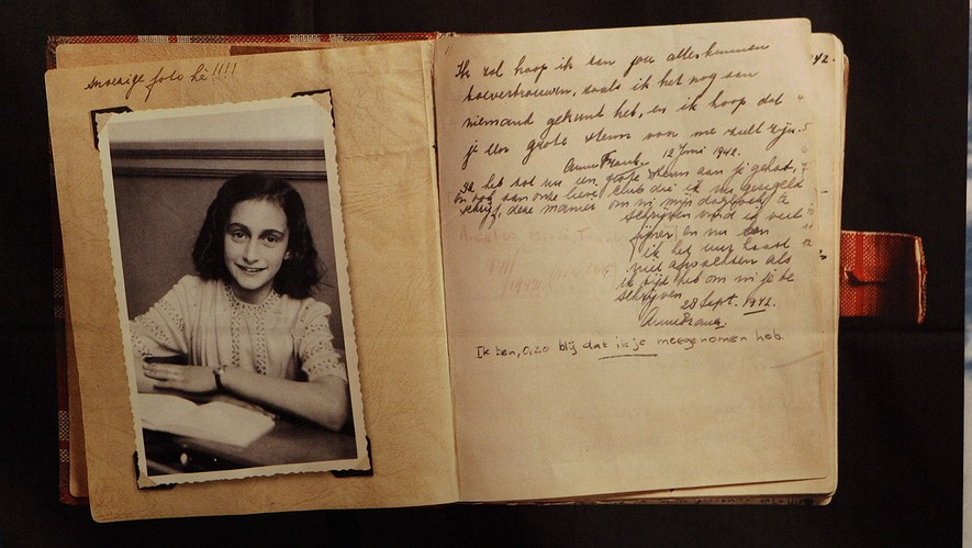 the diary of anne frank Anne frank: the diary of a young girl [anne frank, bm mooyaart, eleanor roosevelt] on amazoncom free shipping on qualifying offers discovered in the attic in which she spent the last years of her life, anne frank's remarkable diary has become a world classic—a powerful reminder of the horrors of war and an eloquent testament to the.